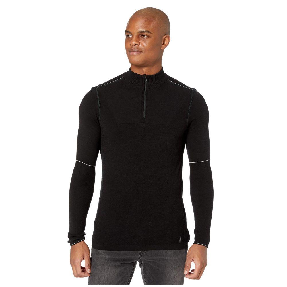 スマートウール Smartwool メンズ ジャケット アウター【Intraknit Merino 250 Thermal 1/4 Zip】Black