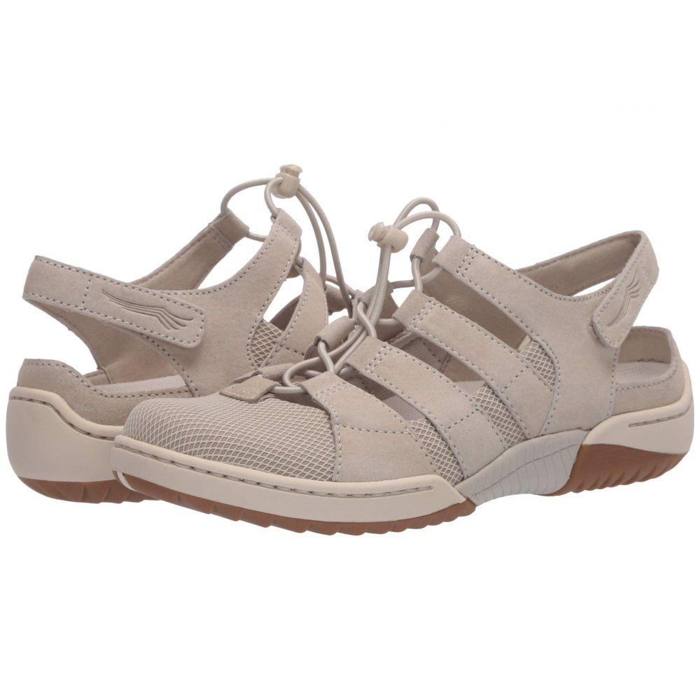 ダンスコ Dansko レディース サンダル・ミュール シューズ・靴【Riona】Ivory Suede