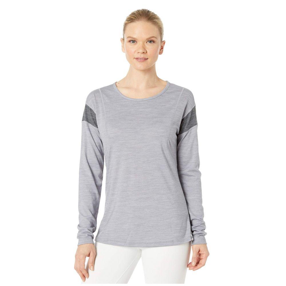 スマートウール Smartwool レディース トップス 【Merino Sport 150 Long Sleeve】Light Gray Heather