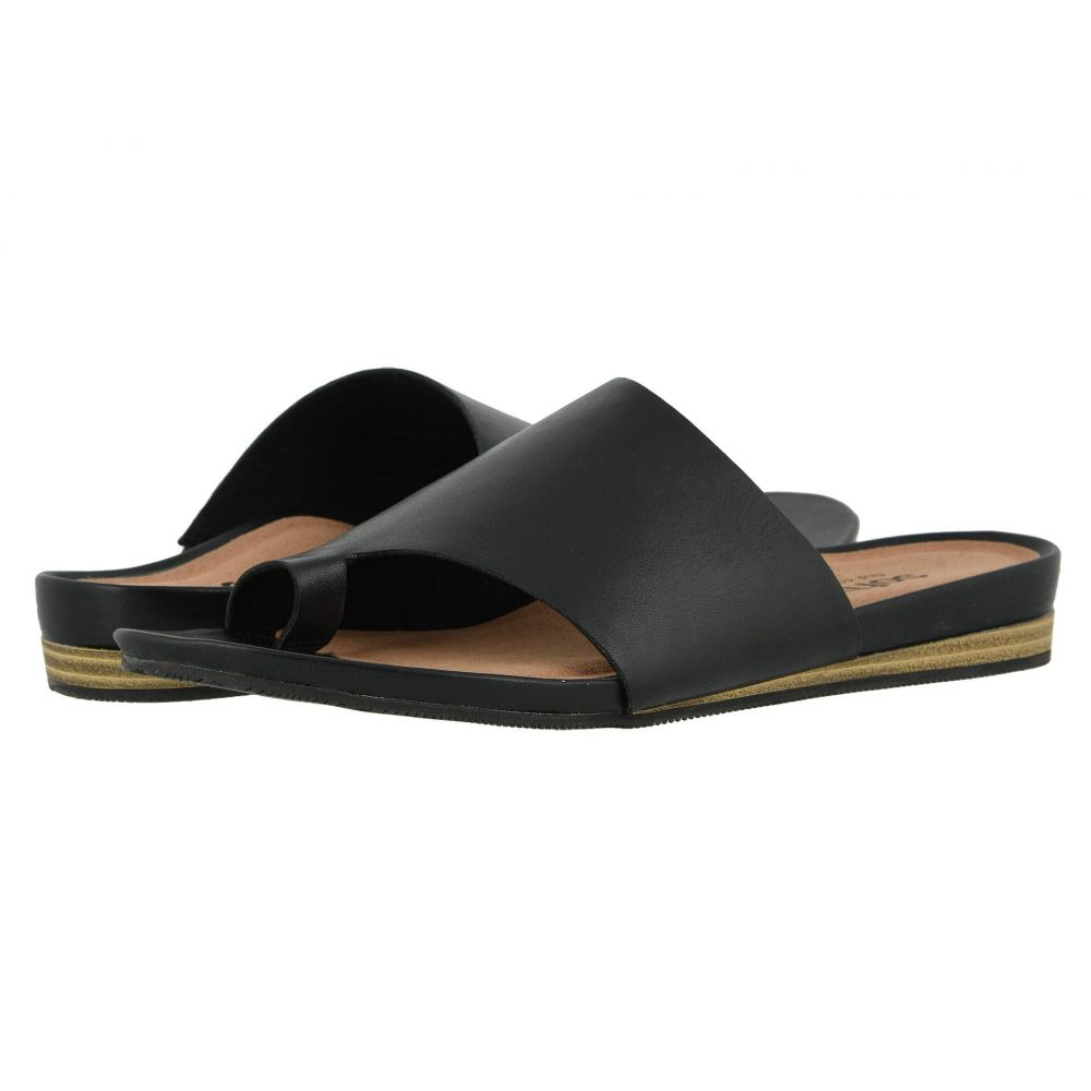 ソフトウォーク SoftWalk レディース サンダル・ミュール シューズ・靴【Corsica】Black
