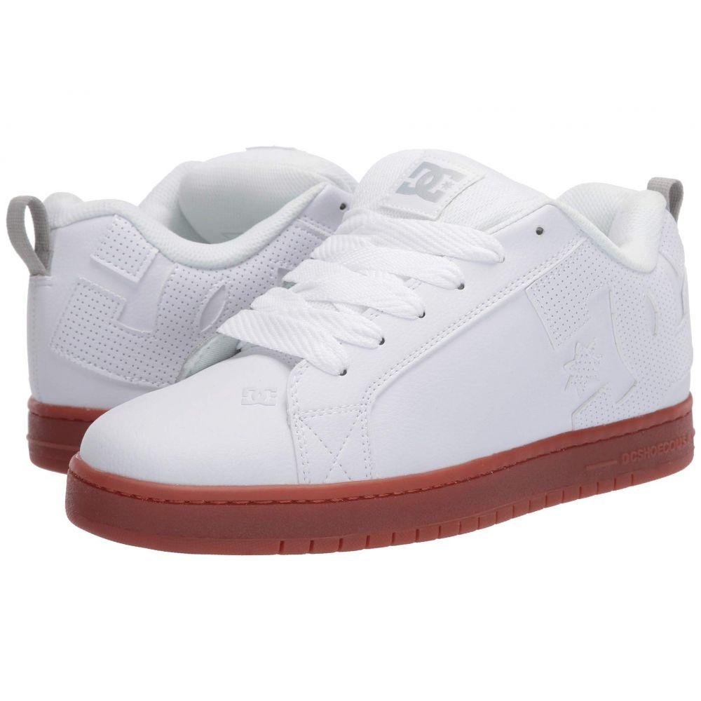 ディーシー DC メンズ スニーカー シューズ・靴【Court Graffik】White