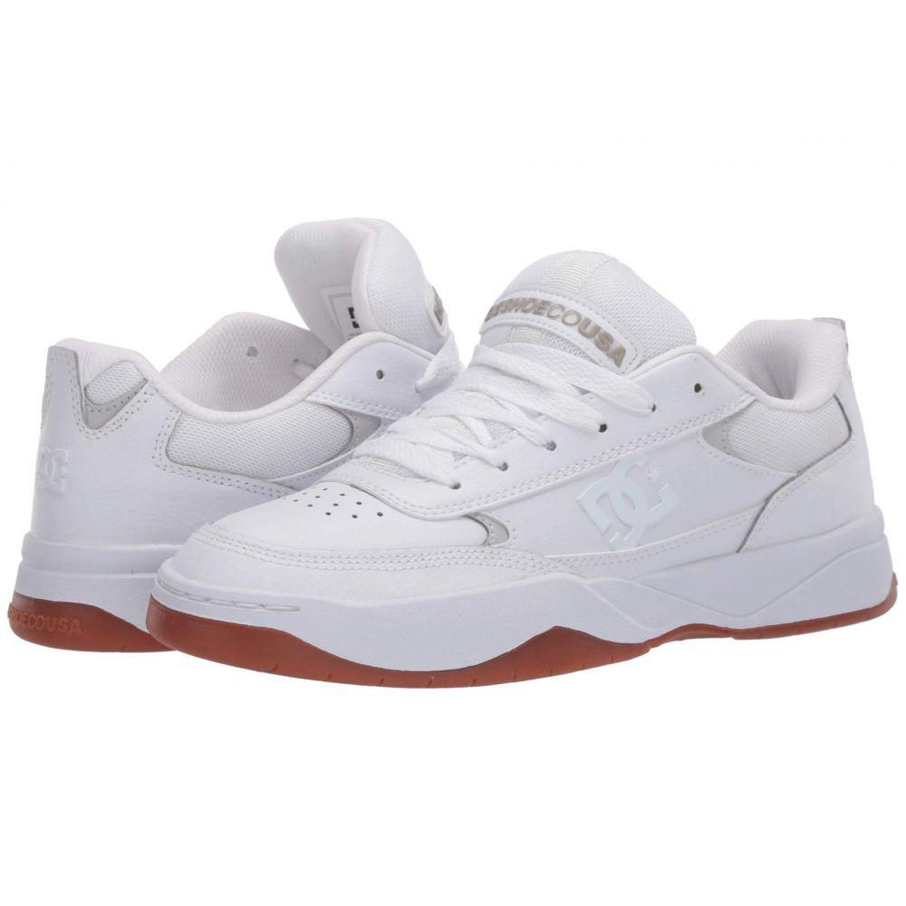 ディーシー DC メンズ スニーカー シューズ・靴【Penza】White/White/Gum