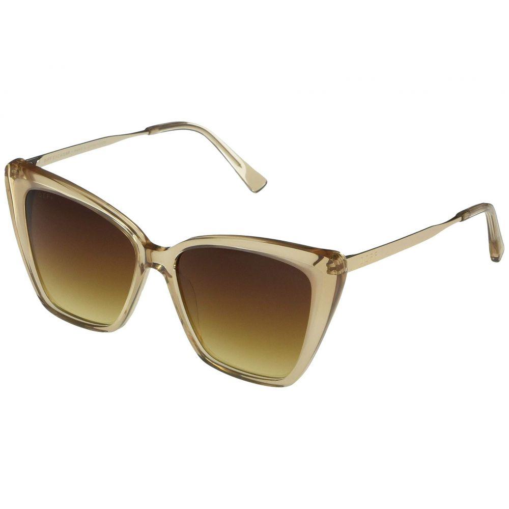ディフアイウェア DIFF Eyewear レディース メガネ・サングラス 【Becky II】Vintage Crystal/Brown