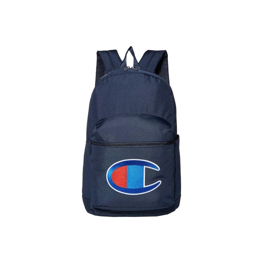 チャンピオン Champion LIFE レディース バックパック・リュック バッグ【Supersize 2.0 Backpack】Navy/Red