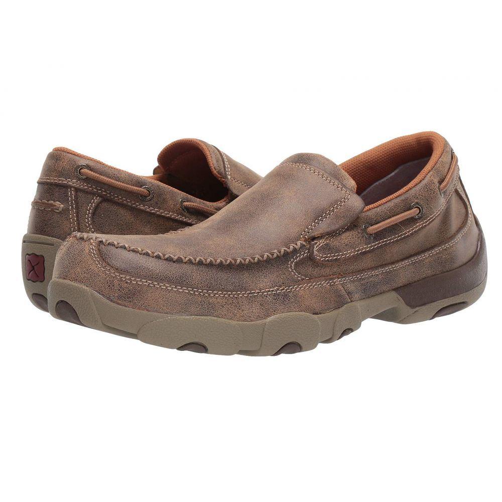 ツイステッドエックス Twisted X メンズ ローファー シューズ・靴【MDMSC03 Composite Toe】Brown
