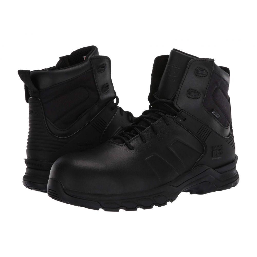 ティンバーランド Timberland PRO メンズ ブーツ シューズ・靴【Hypercharge 6' Composite Safety Toe Waterproof】Black