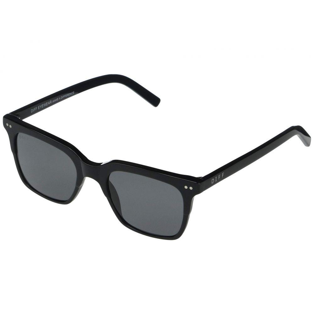 ディフアイウェア DIFF Eyewear レディース メガネ・サングラス 【Billie】Black/Grey