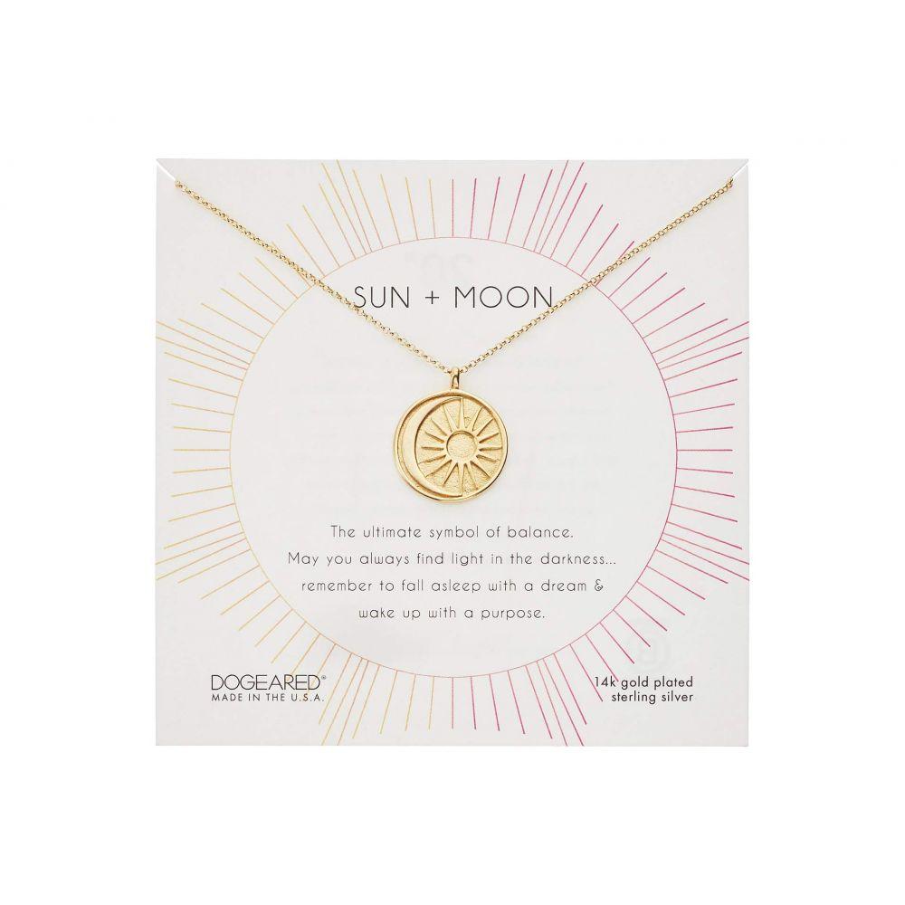 ドギャード Dogeared レディース ネックレス ジュエリー・アクセサリー【Sun & Moon Medallion Necklace】