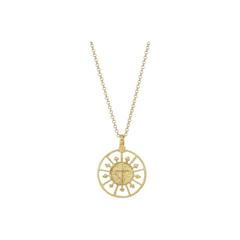 ドギャード Dogeared レディース ネックレス ジュエリー・アクセサリー【Faith & Love Cross Medallion Necklace】