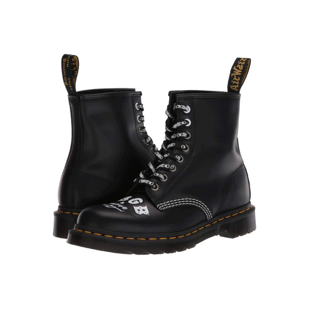 ドクターマーチン Dr. Martens レディース ブーツ シューズ・靴【1460 CBGB Smooth Leather】Black