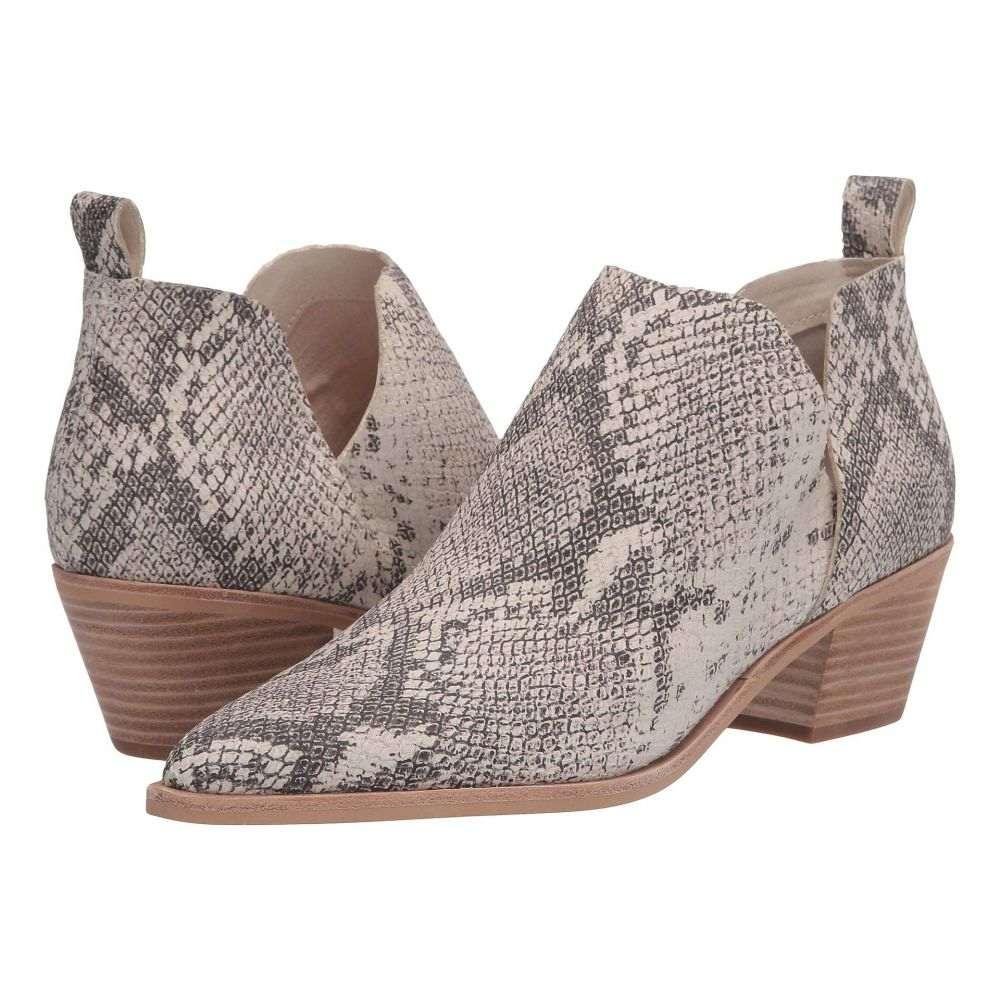 ドルチェヴィータ Dolce Vita レディース ブーツ シューズ・靴【Sonni】White/Black Snake Print Leather