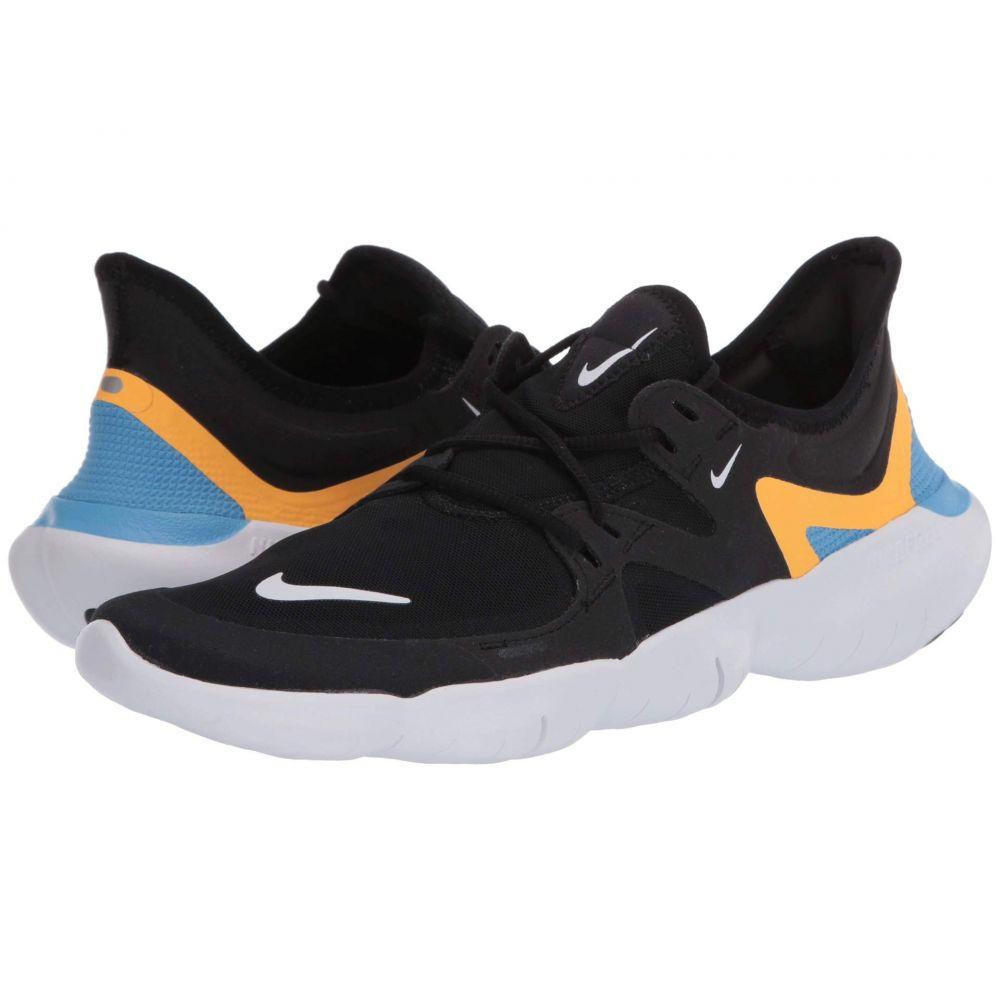 ナイキ Nike メンズ ランニング・ウォーキング シューズ・靴【Free RN 5.0】Black/White/University Blue