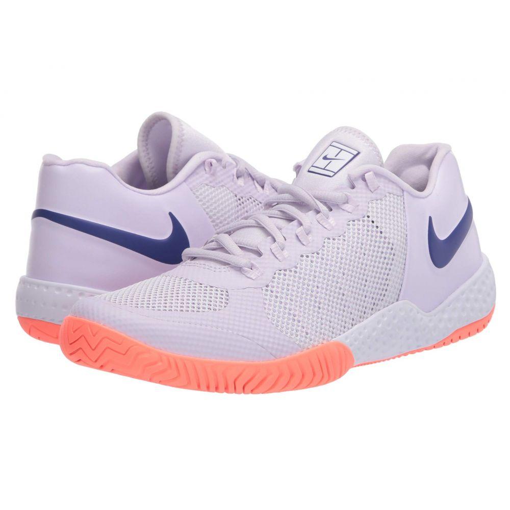 ナイキ Nike レディース テニス シューズ・靴【Flare 2 HC】Barely Grape/Regency Purple/Bright Mango