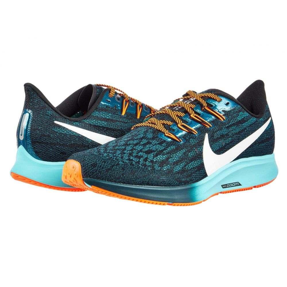 ナイキ Nike メンズ ランニング・ウォーキング エアズーム シューズ・靴【Air Zoom Pegasus 36】Black/Metallic Summit White/Midnight Turquoise