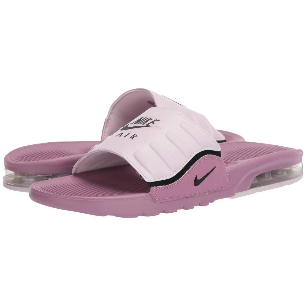 ナイキ Nike レディース サンダル・ミュール シューズ・靴【Air Max Camden Slide】Plum Dust/Black/Barely Rose