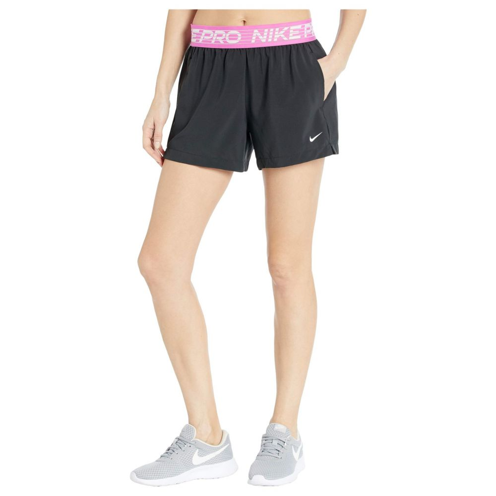 ナイキ Nike レディース ショートパンツ ボトムス・パンツ【Flex Shorts 4' Essential】Black/Active Fuchsia/White