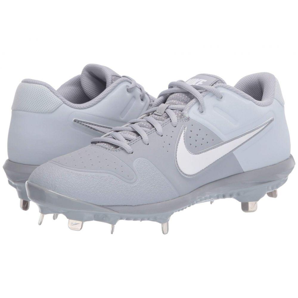 ナイキ Nike メンズ 野球 シューズ・靴【Alpha Huarache Varsity Low】Wolf Grey/White/Pure Platinum