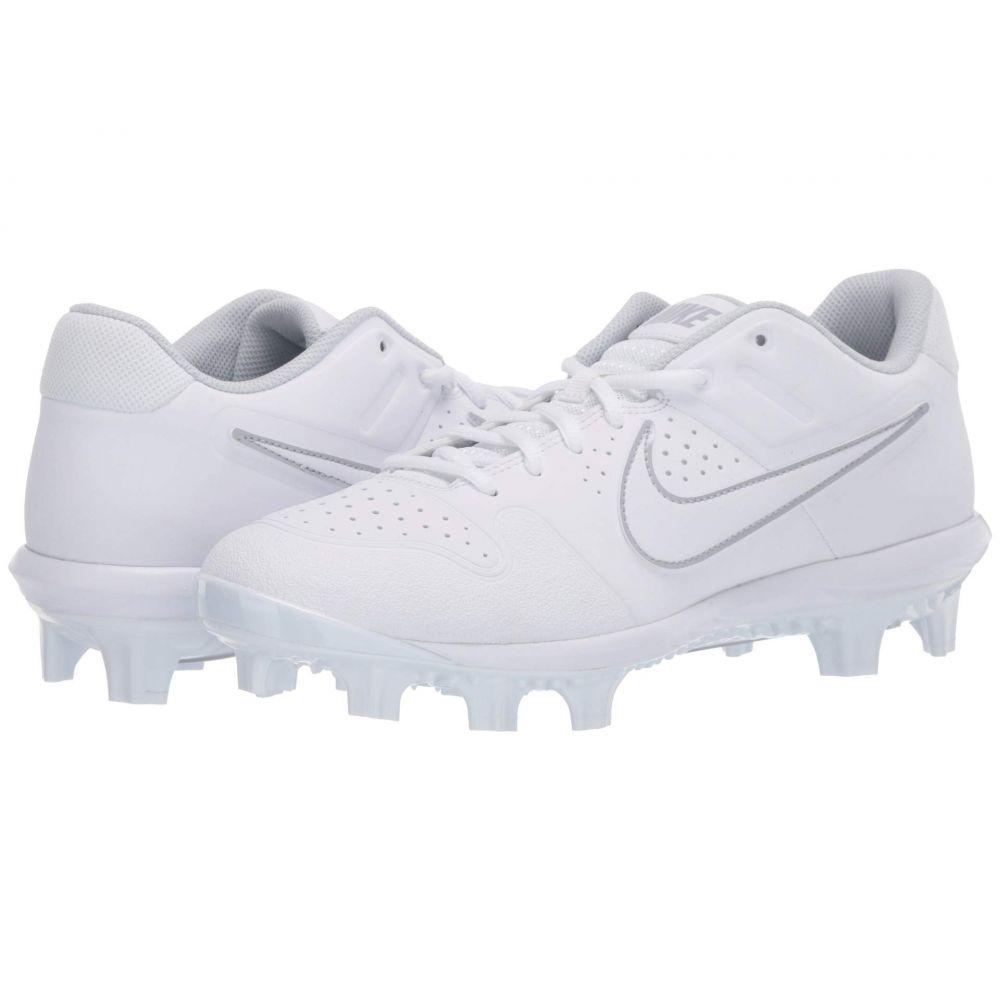 ナイキ Nike メンズ 野球 シューズ・靴【Alpha Huarache Varsity Low MCS】White/White/Pure Platinum