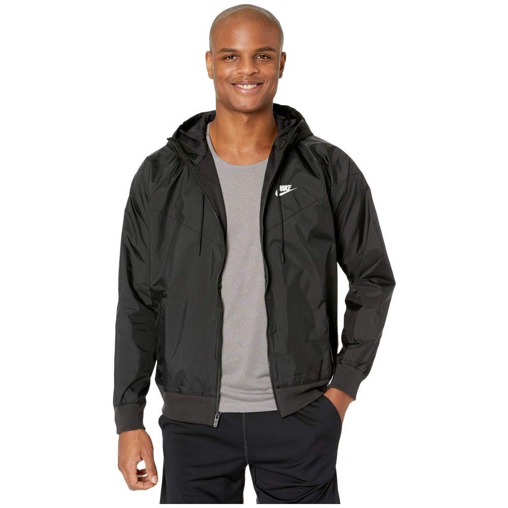 ナイキ Nike メンズ ジャケット アウター【NSW Windrunner Hoodie Jacket】Black/Black/Black/Sail