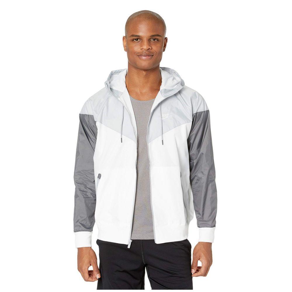 ナイキ Nike メンズ ジャケット アウター【NSW Windrunner Hoodie Jacket】White/Wolf Grey/Dark Grey/White