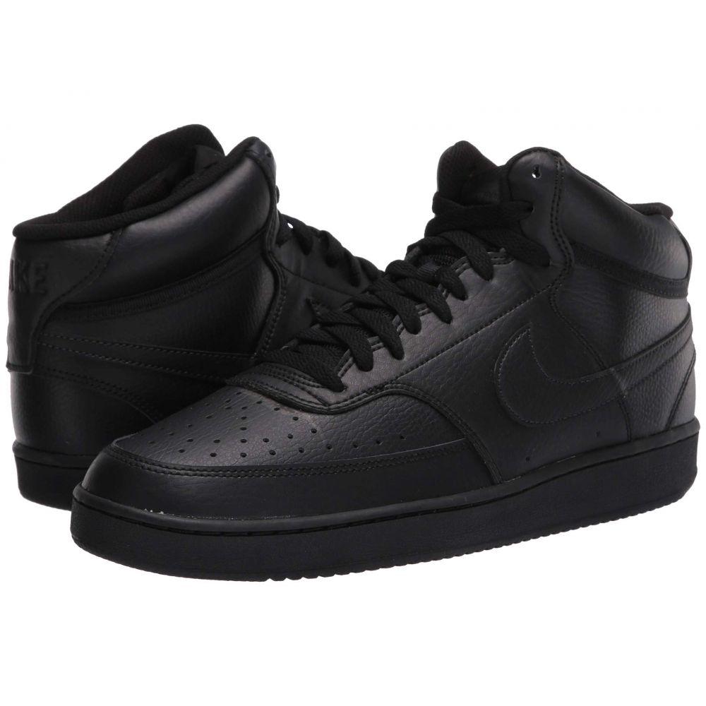 ナイキ Nike メンズ スニーカー シューズ・靴【Court Vision Mid】Black/Black/Black