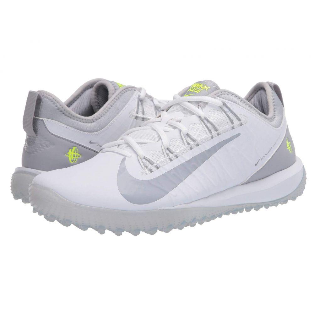 ナイキ Nike メンズ ラクロス シューズ・靴【Alpha Huarache 7 Pro Turf Lax】White/Wolf Grey