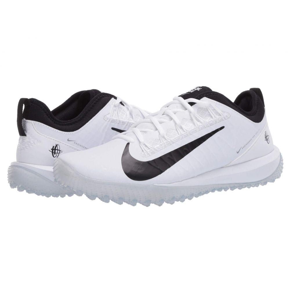 ナイキ Nike メンズ ラクロス シューズ・靴【Alpha Huarache 7 Pro Turf Lax】White/Black