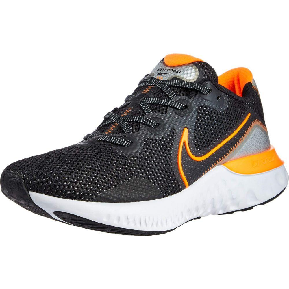 ナイキ Nike メンズ ランニング・ウォーキング シューズ・靴【Renew Run】Black/Total Orange/Particle Grey