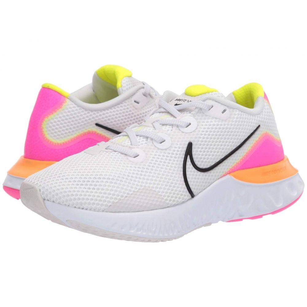 ナイキ Nike レディース ランニング・ウォーキング シューズ・靴【Renew Run】Platinum Tint/Black/White/Pink Blast