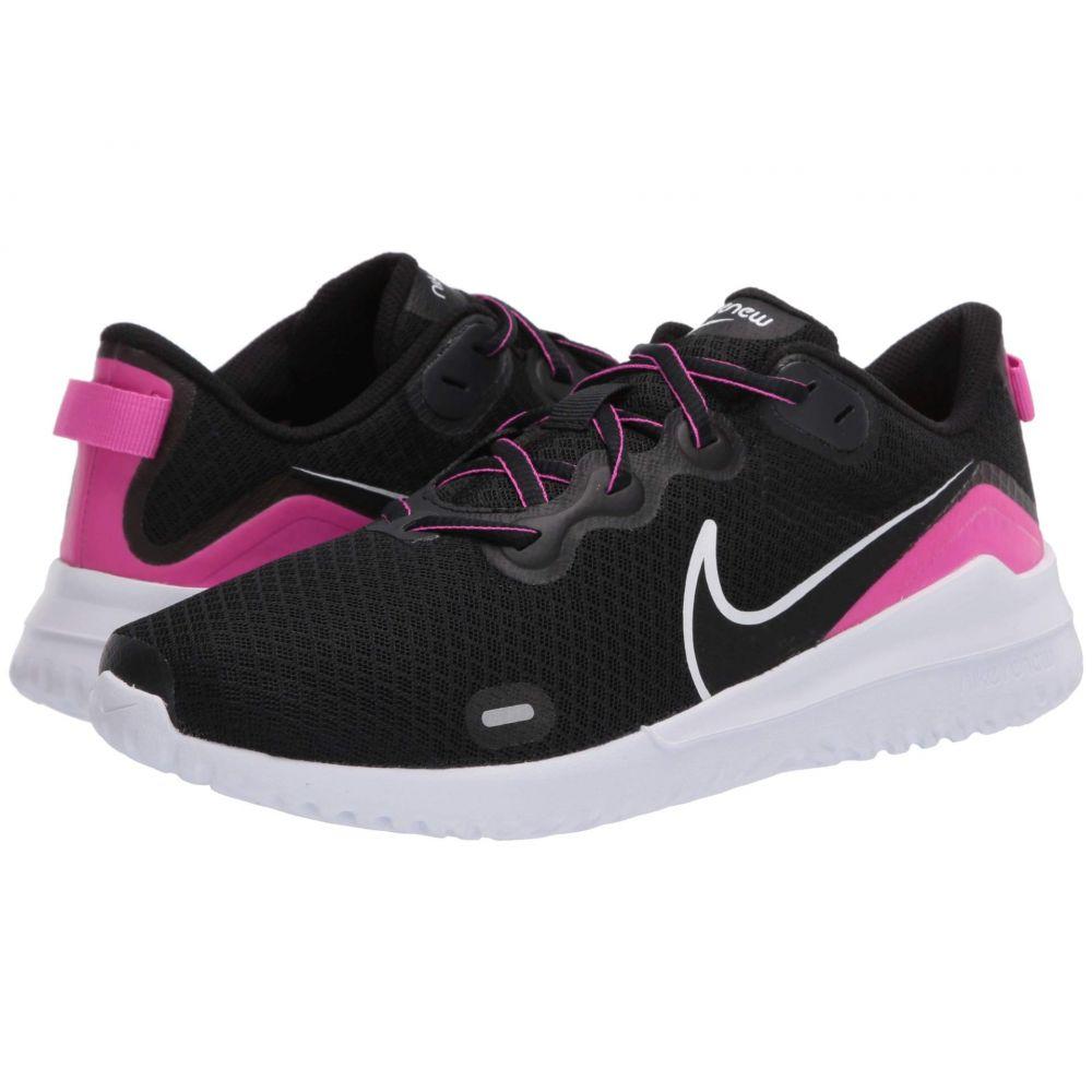 ナイキ Nike レディース ランニング・ウォーキング シューズ・靴【Renew Ride】Black/White/Free Pink/Anthracite