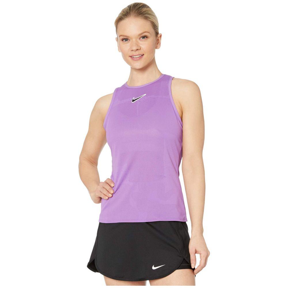 ナイキ Nike レディース タンクトップ トップス【Court Tank MB NT】Purple Nebula/Off Noir
