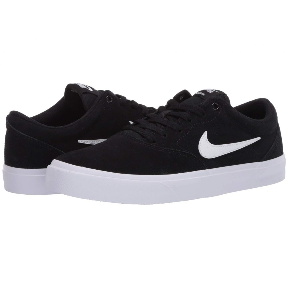 ナイキ Nike SB メンズ スニーカー シューズ・靴【Charge Suede】Black/White/Black