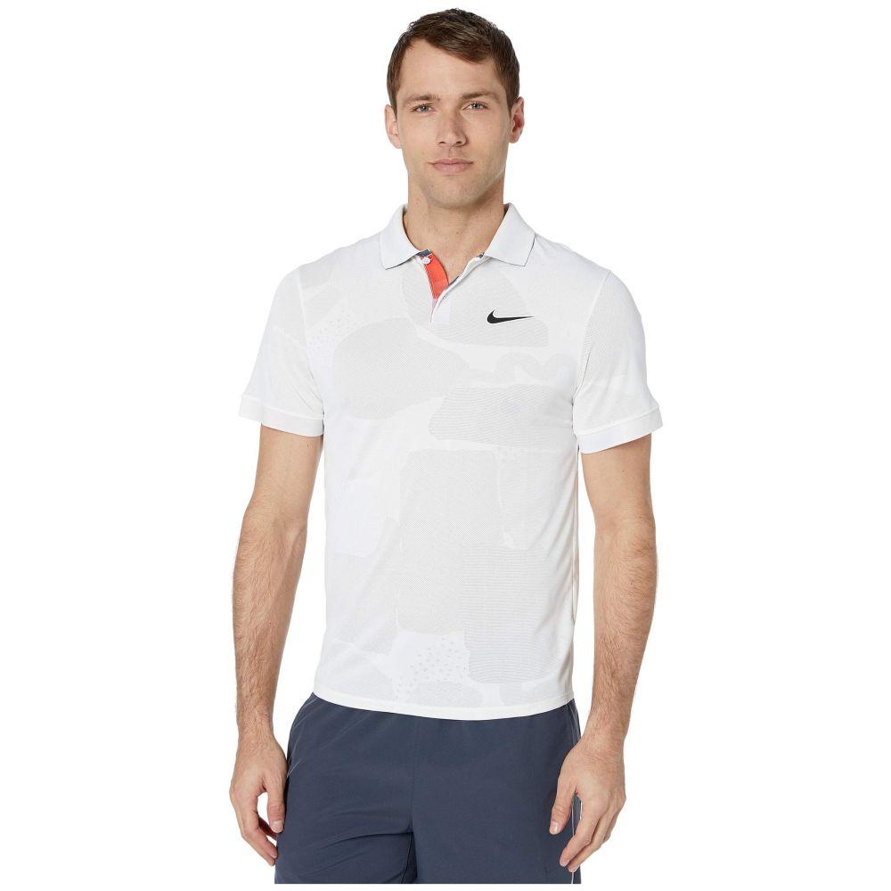 ナイキ Nike メンズ ポロシャツ トップス【Court Breathe Advance Polo Mb Nt】White/Off Noir