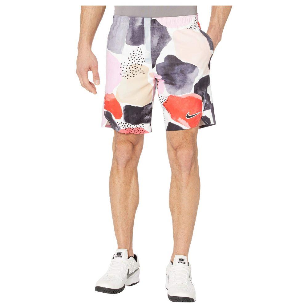 ナイキ Nike メンズ ショートパンツ ボトムス・パンツ【Court Flex Ace Shorts Aop Mb Nt】White/Green/Off Noir