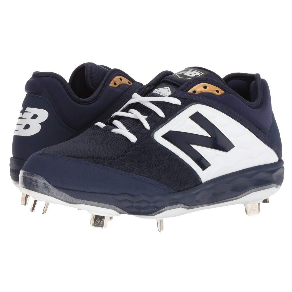 ニューバランス New Balance メンズ 野球 シューズ・靴【L3000v4 Baseball】Navy/White