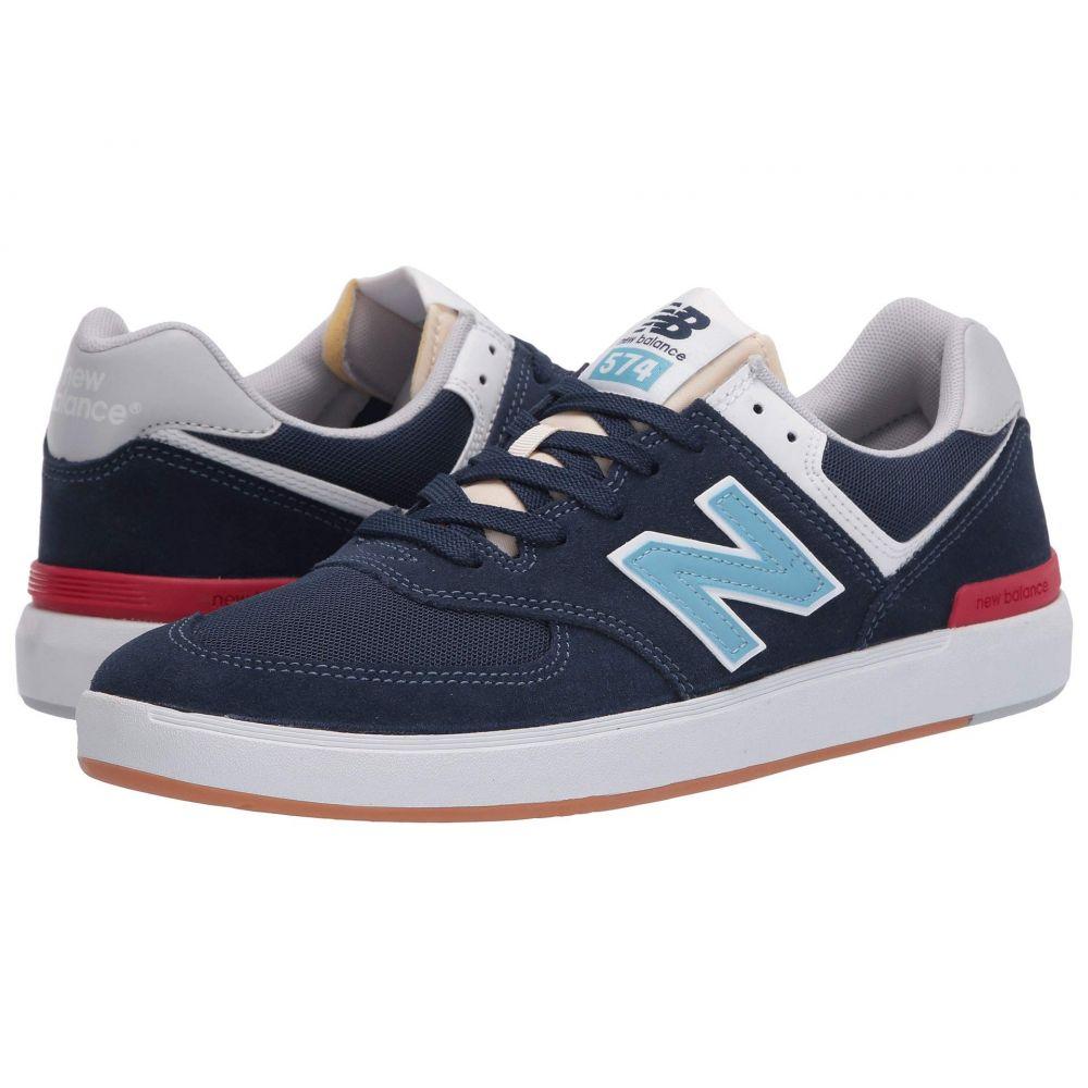 ニューバランス New Balance Numeric レディース スニーカー シューズ・靴【AM574】Navy/Blue
