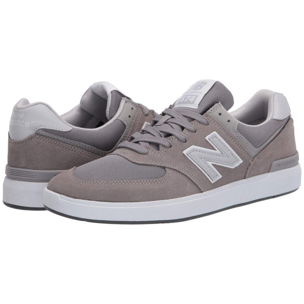 ニューバランス New Balance Numeric レディース スニーカー シューズ・靴【AM574】Grey/Grey