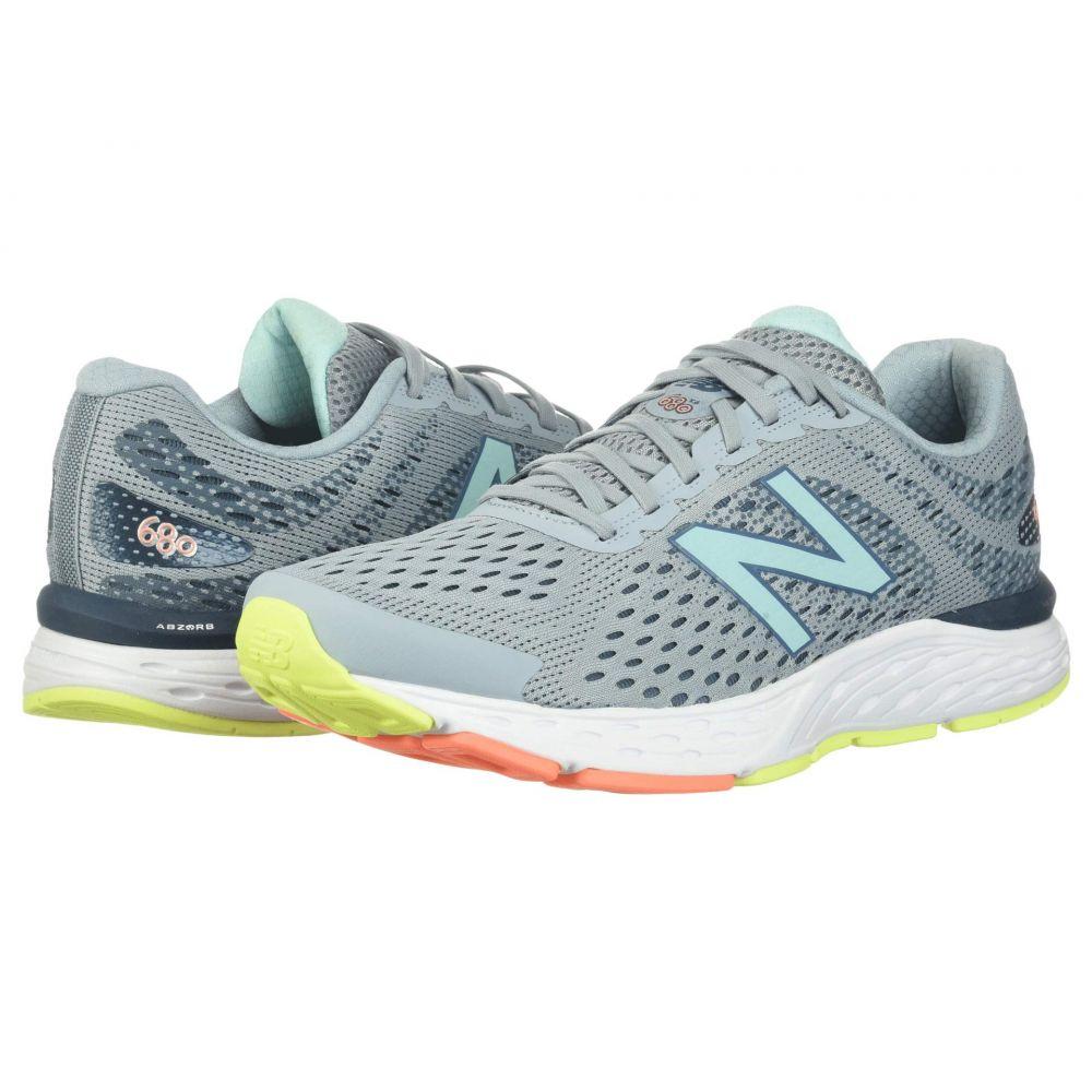 ニューバランス New Balance レディース ランニング・ウォーキング シューズ・靴【680v6】Light Slate/Stone Blue