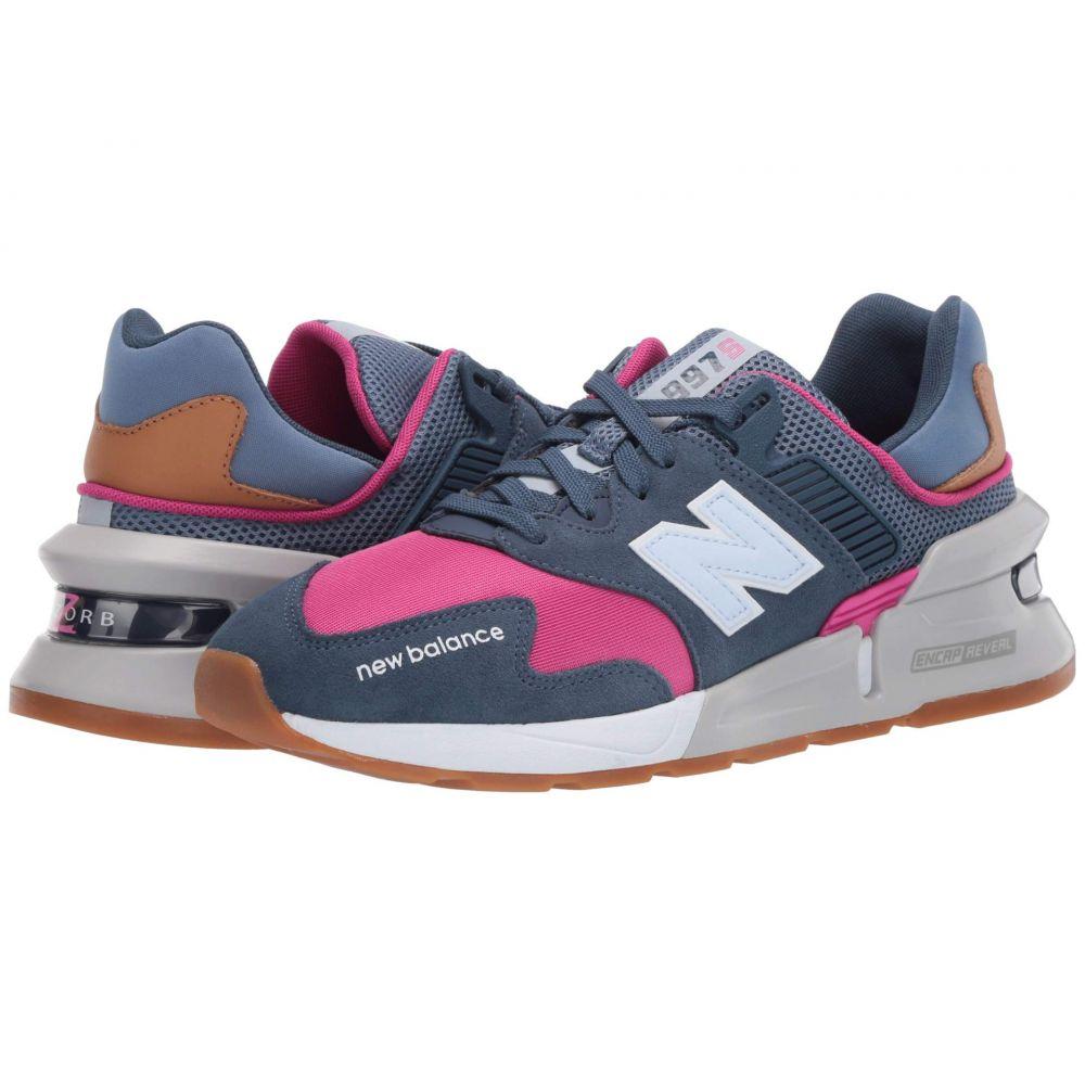 ニューバランス New Balance Classics レディース スニーカー シューズ・靴【WS997Jv1】Stone Blue/Exuberant Pink
