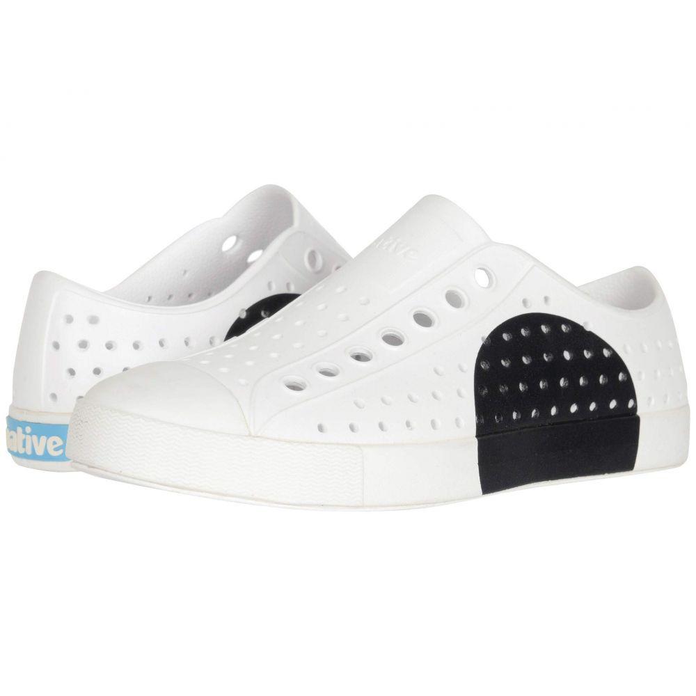 ネイティブ シューズ Native Shoes レディース スニーカー シューズ・靴【Jefferson Block】Shell White/Shell White/Jiffy Circle