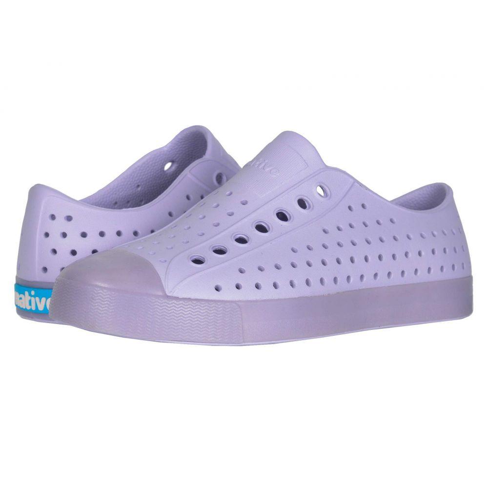 ネイティブ シューズ Native Shoes レディース スニーカー シューズ・靴【Jefferson】Powder Purple/Transluscent