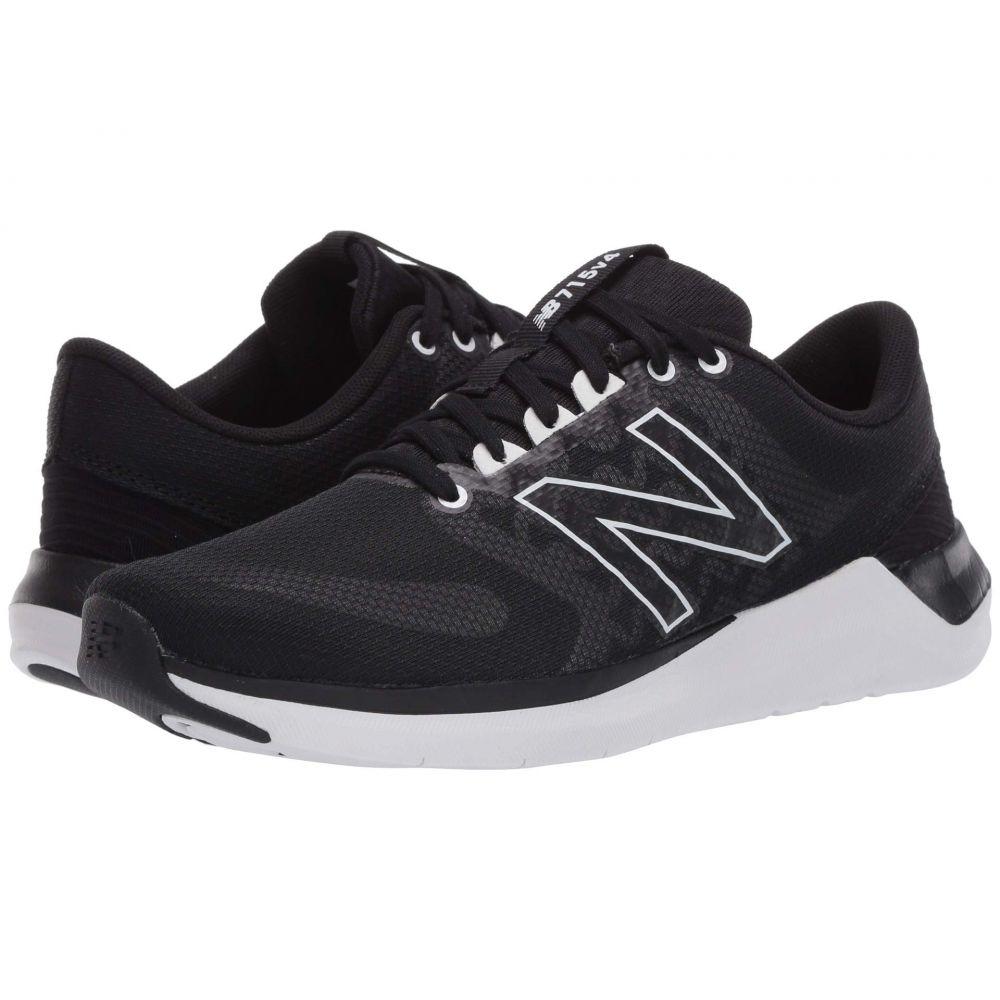 ニューバランス New Balance レディース スニーカー シューズ・靴【715v4】Black/White