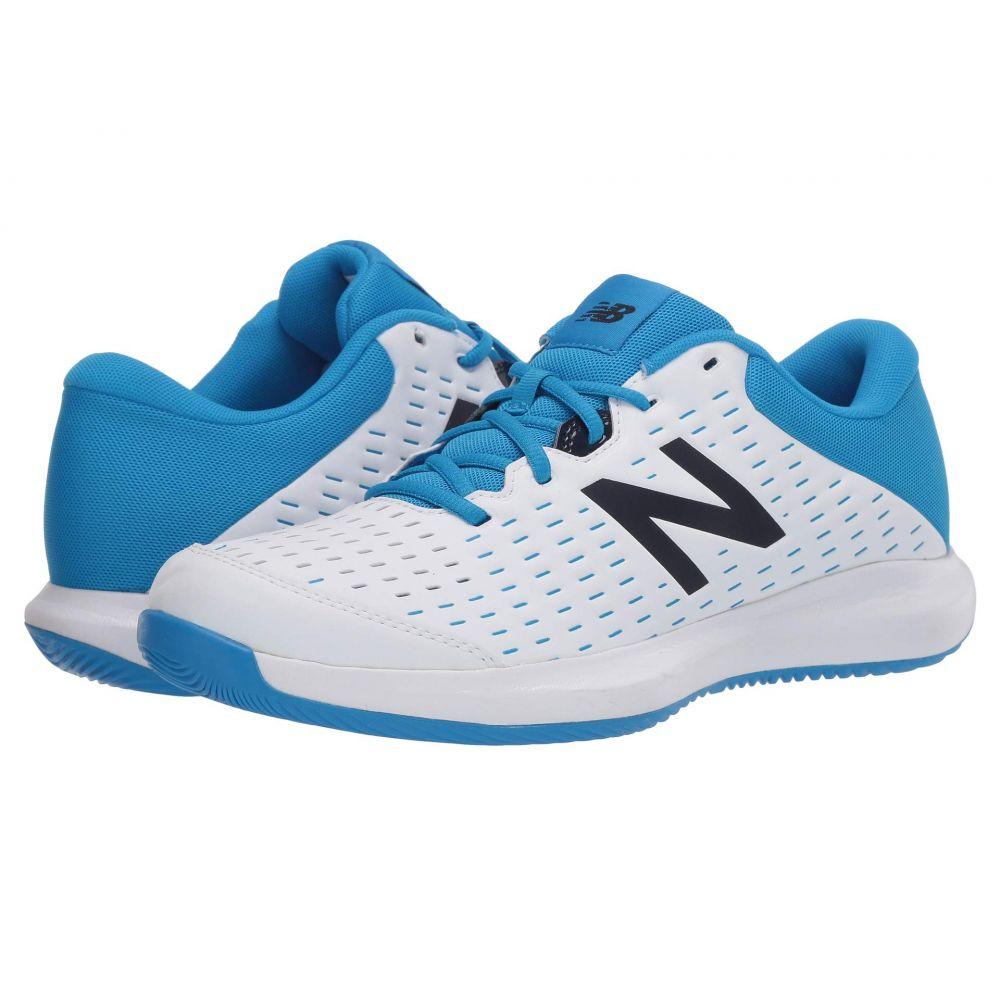ニューバランス New Balance メンズ テニス シューズ・靴【696v4】White/Blue
