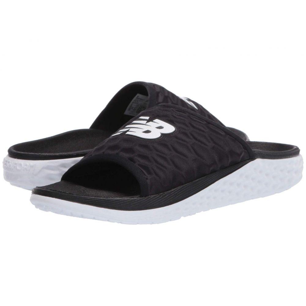 ニューバランス New Balance レディース サンダル・ミュール シューズ・靴【Fresh Foam Hupo'o】Black/White