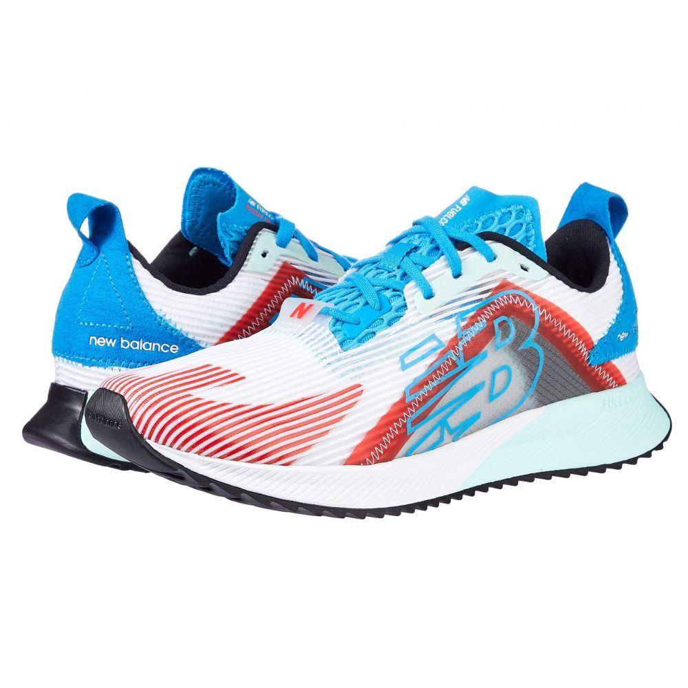 ニューバランス New Balance メンズ ランニング・ウォーキング シューズ・靴【FuelCell Echolucent】White/Vision Blue