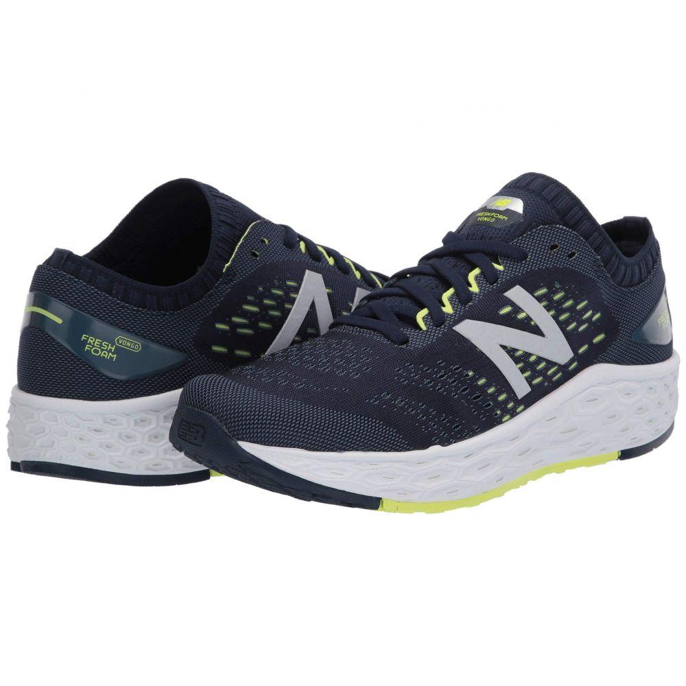 ニューバランス New Balance メンズ ランニング・ウォーキング シューズ・靴【Fresh FoamVongo v4】Natural Indigo/Lemon Slush