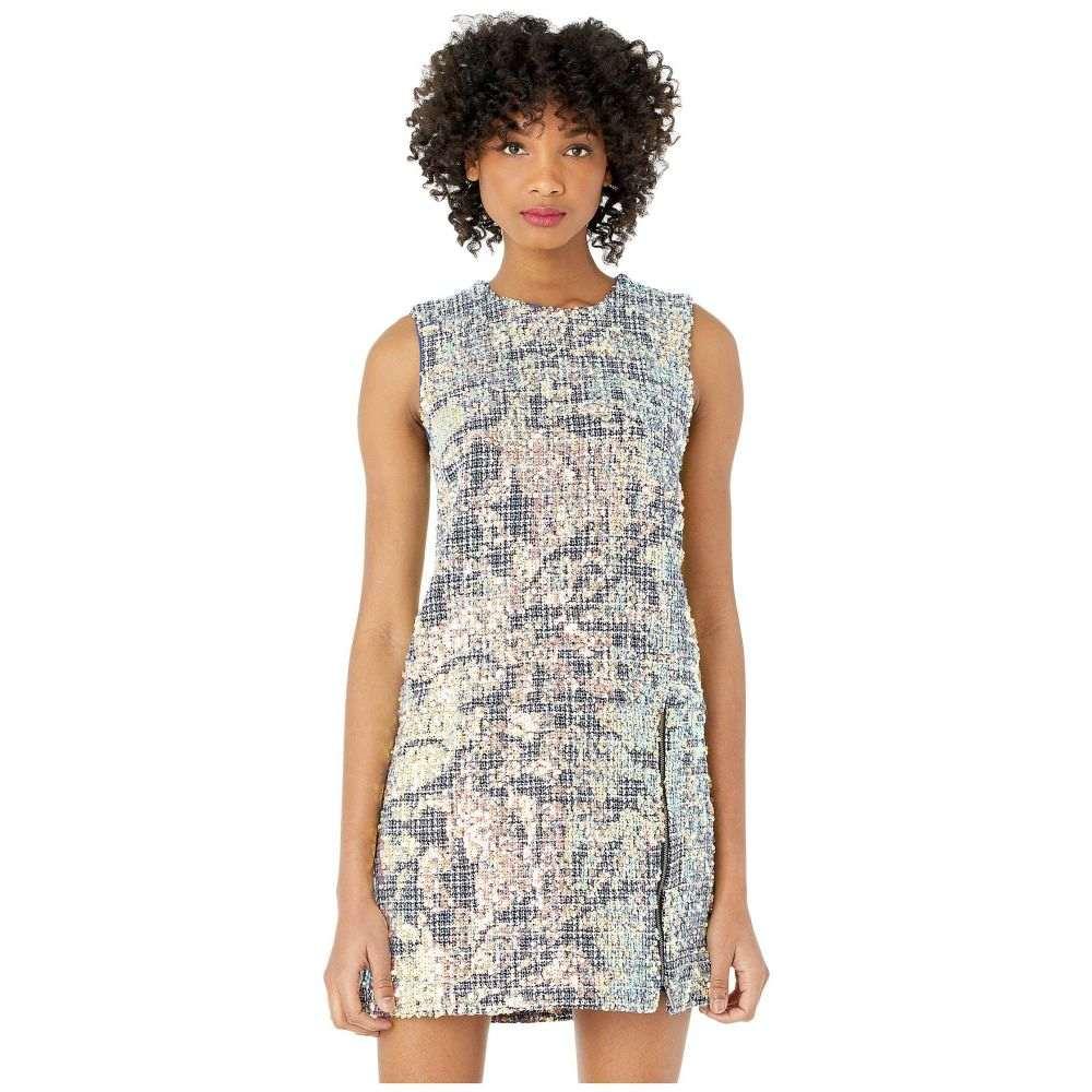 ニコルミラー Nicole Miller レディース ワンピース シフトドレス ワンピース・ドレス【Sequin Tweed Shift Dress】Pink Multi