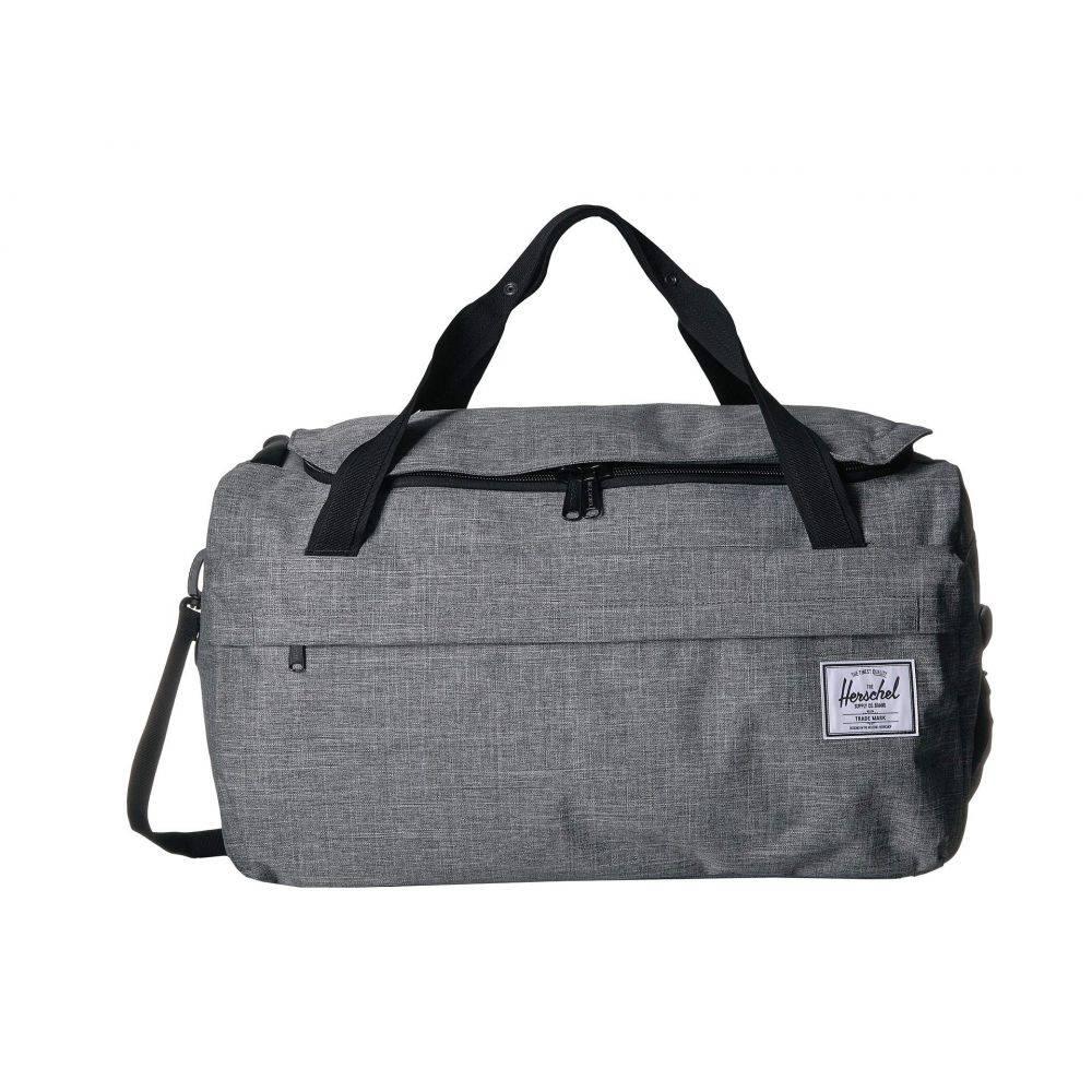 ハーシェル サプライ Herschel Supply Co. レディース ボストンバッグ・ダッフルバッグ バッグ【Outfitter Luggage 50 L】Raven Crosshatch