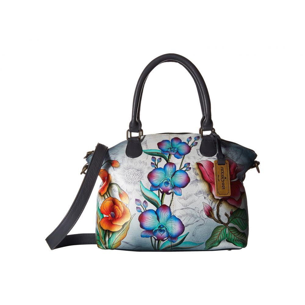 アヌシュカ Anuschka Handbags レディース ハンドバッグ サッチェルバッグ バッグ【Medium Convertible Satchel 484】Floral Fantasy