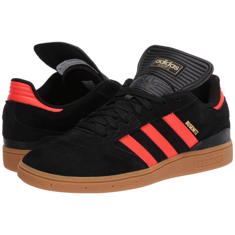 アディダス adidas Skateboarding メンズ スニーカー シューズ・靴【Busenitz】Core Black/Solar Red/Gum